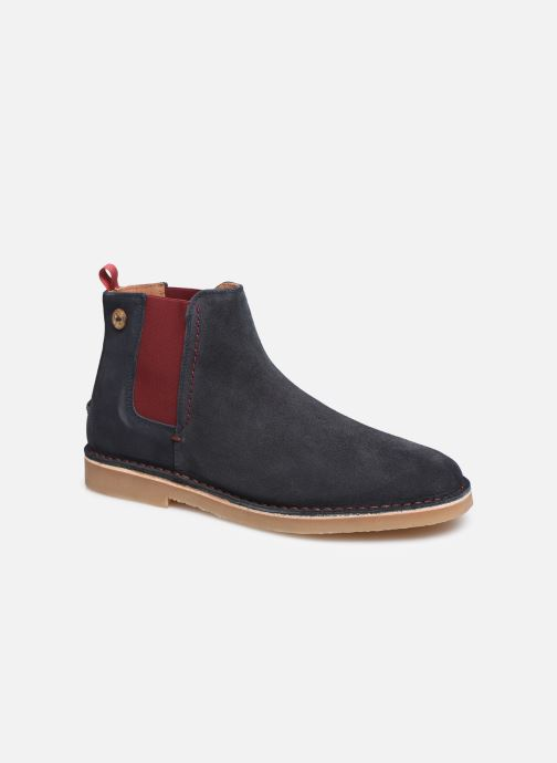 Ankle boots Faguo Cork VP Blue detailed view/ Pair view