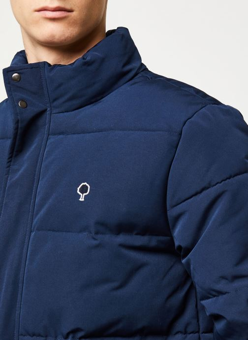 Vêtements Faguo LONGNY PADDED SYN WOV VP Bleu vue face