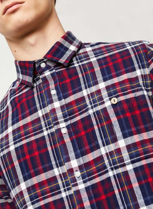 Vêtements Faguo ONCA SHIRT FLANNEL VP Multicolore vue face