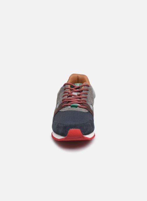 Baskets Faguo Ivy Syn Woven Suede C  VP Bleu vue portées chaussures
