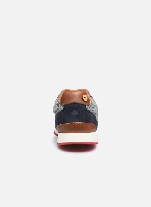 Sneaker Faguo Ivy Syn Woven Suede C  VP blau ansicht von rechts