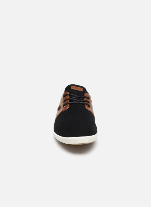Sneakers Faguo Cypress Suede VP Nero modello indossato