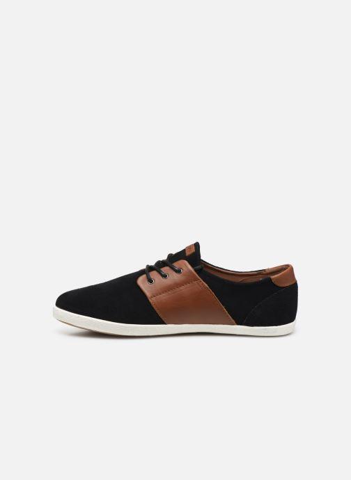 Sneaker Faguo Cypress Suede VP schwarz ansicht von vorne