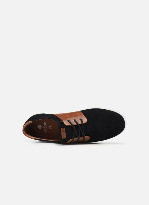 Sneaker Faguo Cypress Suede VP schwarz ansicht von links