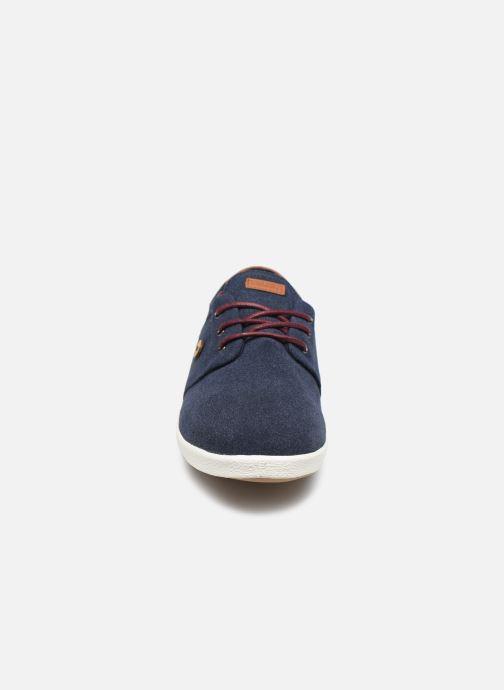 Baskets Faguo TENNIS CYPRESS SYN NOT WOVEN VP Bleu vue portées chaussures