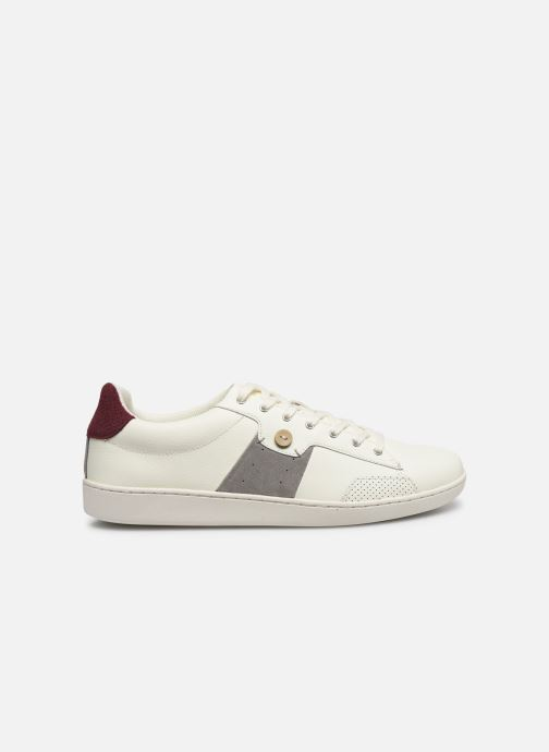 Deportivas Faguo TENNIS HOSTA LEATHER SUEDE N VP Blanco vistra trasera