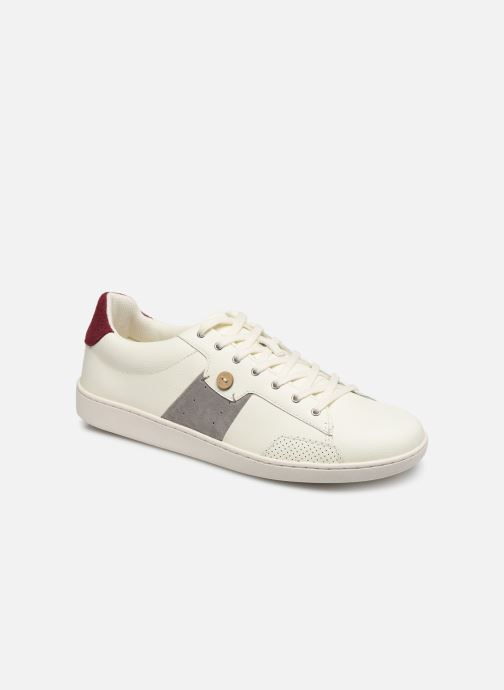 Deportivas Faguo TENNIS HOSTA LEATHER SUEDE N VP Blanco vista de detalle / par