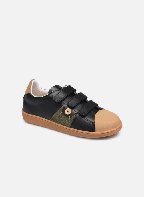Sneakers Faguo Hostav L VP Zwart detail