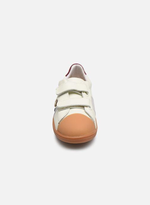 Baskets Faguo Hostav L VP Blanc vue portées chaussures