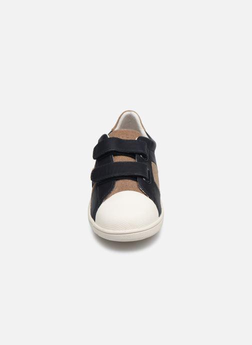 Baskets Faguo Hostav L VP Bleu vue portées chaussures