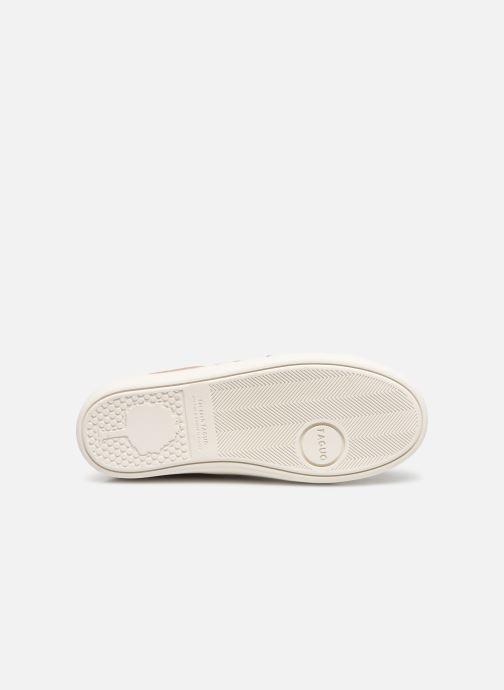 Sneakers Faguo TENNIS HOSTAV SUEDE VP Goud en brons boven
