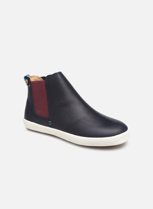 Bottines et boots Faguo TENNIS LILAC LEATHER VP Bleu vue détail/paire