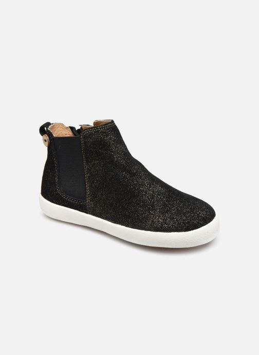Bottines et boots Faguo TENNIS LILAC SUEDE VP Noir vue détail/paire