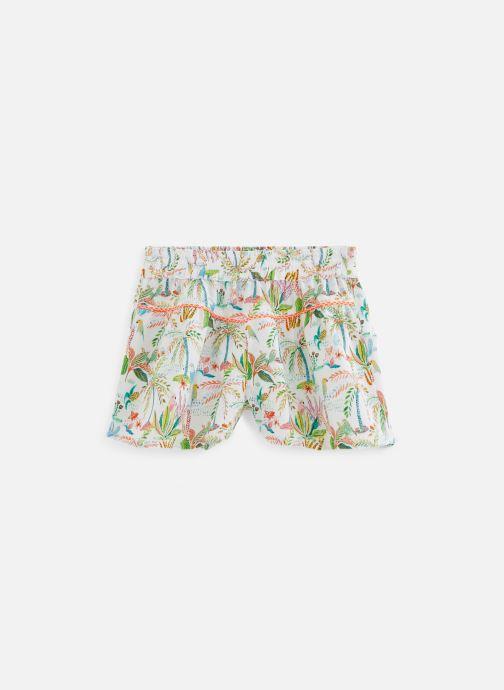 Vêtements 3 Pommes Short blanc Multicolore vue détail/paire