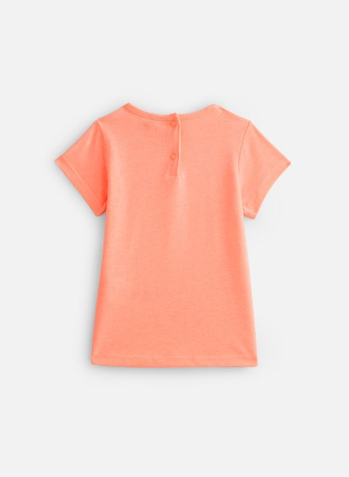 Vêtements 3 Pommes T-Shirt 3Q10122 Orange vue bas / vue portée sac