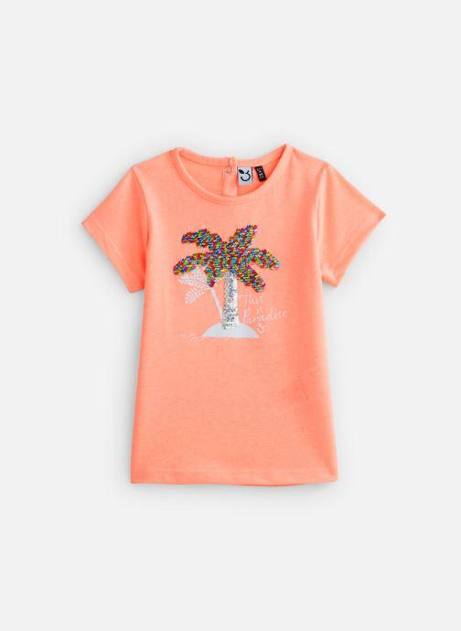 Vêtements 3 Pommes T-Shirt 3Q10122 Orange vue détail/paire