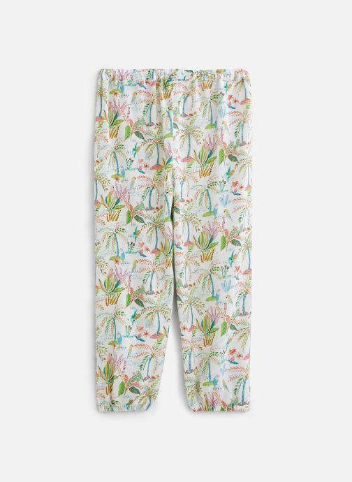 Vêtements 3 Pommes Pantalon blanc 3Q22032 Multicolore vue bas / vue portée sac