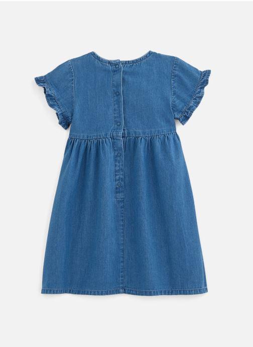 Vêtements 3 Pommes Robe à manches courtes 3Q30142 Bleu vue bas / vue portée sac