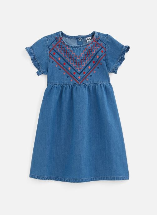 Vêtements 3 Pommes Robe à manches courtes 3Q30142 Bleu vue détail/paire