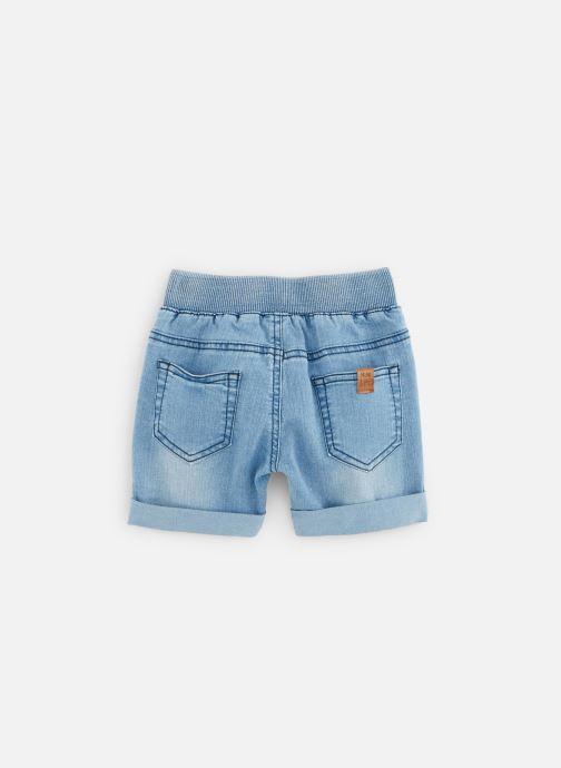 Vêtements 3 Pommes Bermuda en Jean 3Q25103 Bleu vue bas / vue portée sac