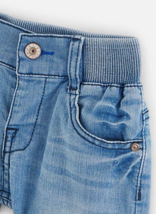 Vêtements 3 Pommes Bermuda en Jean 3Q25103 Bleu vue portées chaussures