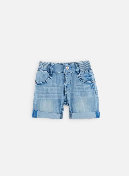Vêtements 3 Pommes Bermuda en Jean 3Q25103 Bleu vue détail/paire