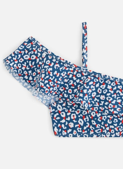 Vêtements 3 Pommes Maillot de Bain 3Q38014 Bleu vue portées chaussures