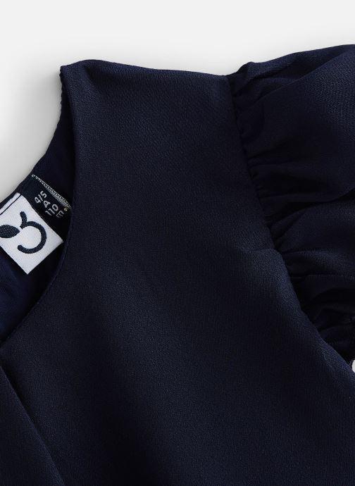 Kleding 3 Pommes Robe courte ouverture dos 3Q31074 Blauw model