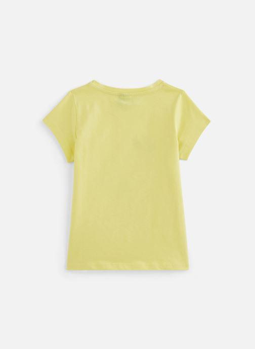 Kleding 3 Pommes Tee-shirt à sequins 3Q10034 Geel onder