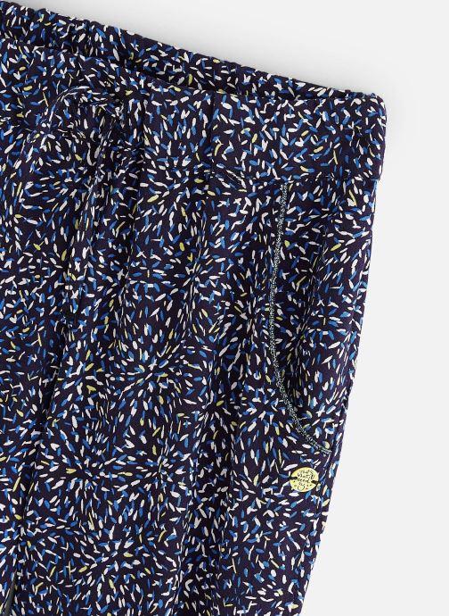 Vêtements 3 Pommes Pantalon coupe skinny 3Q22074 Bleu vue portées chaussures