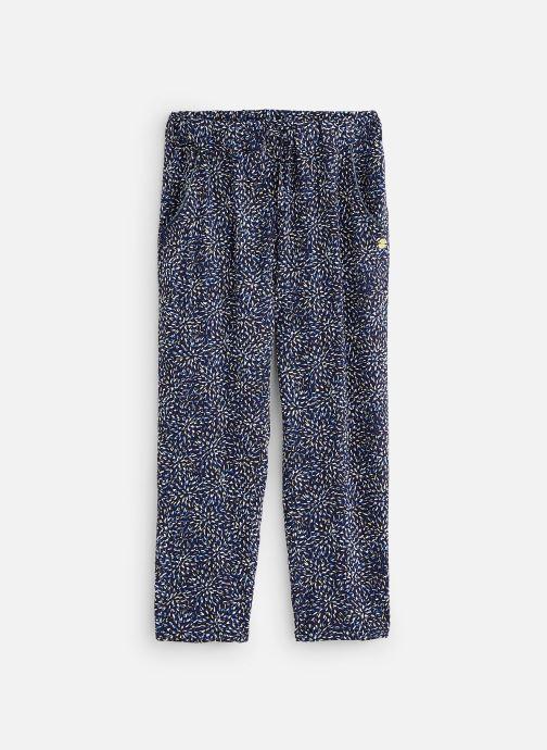 Vêtements 3 Pommes Pantalon coupe skinny 3Q22074 Bleu vue détail/paire