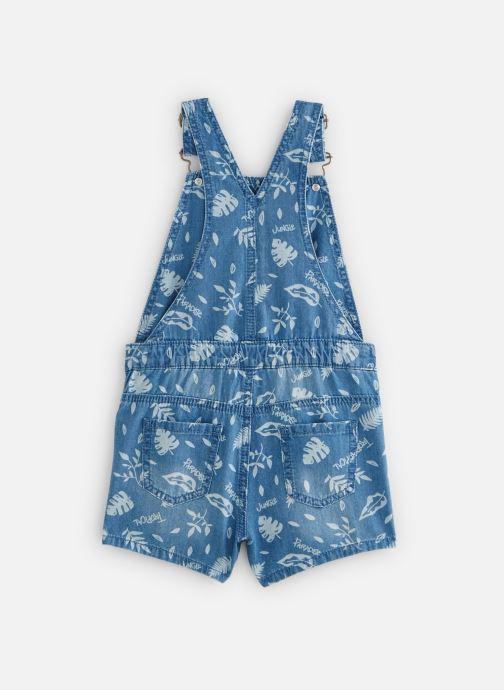 Vêtements 3 Pommes Salopette denim 3Q21054 Bleu vue bas / vue portée sac