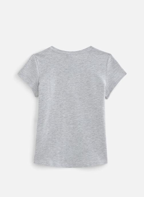 Vêtements 3 Pommes T-Shirt 3Q10994 Gris vue bas / vue portée sac