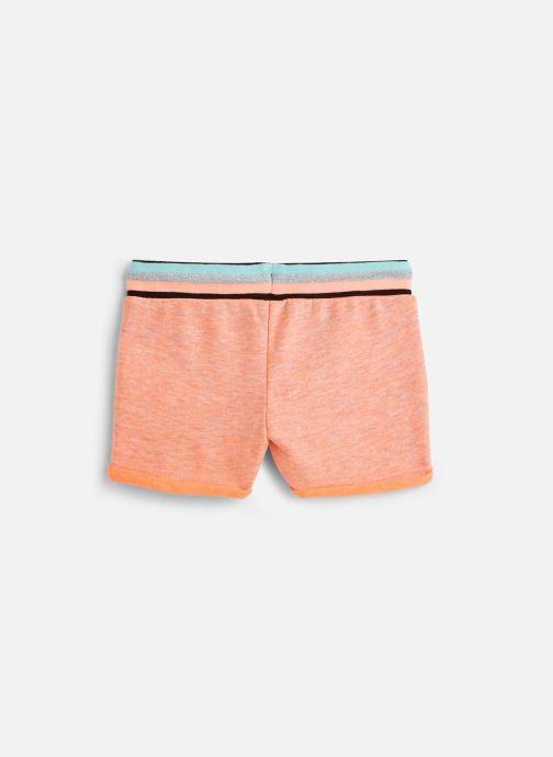 Vêtements 3 Pommes Short orange fluo 3Q26084 Orange vue bas / vue portée sac