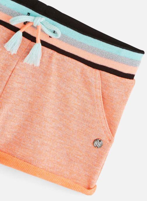 Vêtements 3 Pommes Short orange fluo 3Q26084 Orange vue portées chaussures