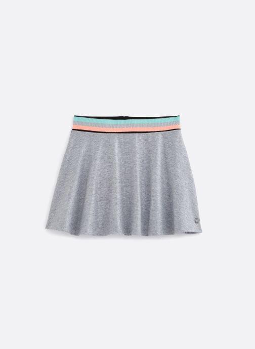 Vêtements 3 Pommes Jupe patineuse gris chiné 3Q27004 Gris vue détail/paire