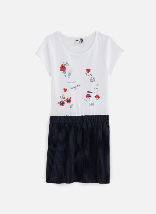 Vêtements 3 Pommes Robe 3Q30044 Bleu vue détail/paire