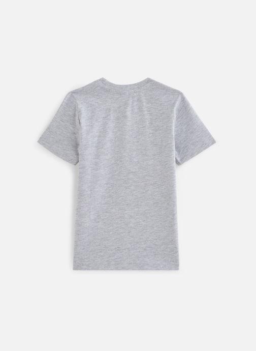 Vêtements 3 Pommes T-Shirt 3Q10995 Gris vue bas / vue portée sac