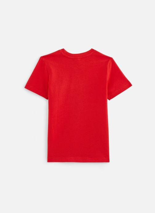 Vêtements 3 Pommes T-Shirt 3Q10995 Rouge vue bas / vue portée sac