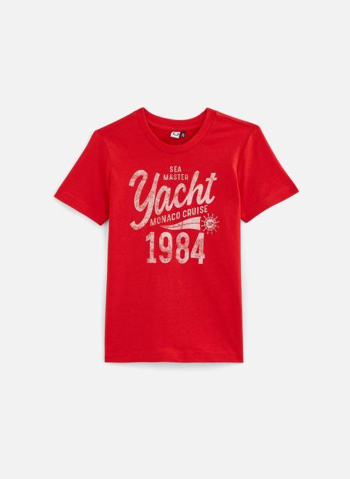 Vêtements 3 Pommes T-Shirt 3Q10995 Rouge vue détail/paire