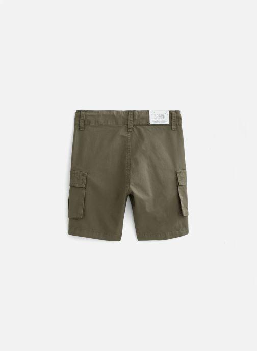 Vêtements 3 Pommes Short 3Q25135 Vert vue bas / vue portée sac