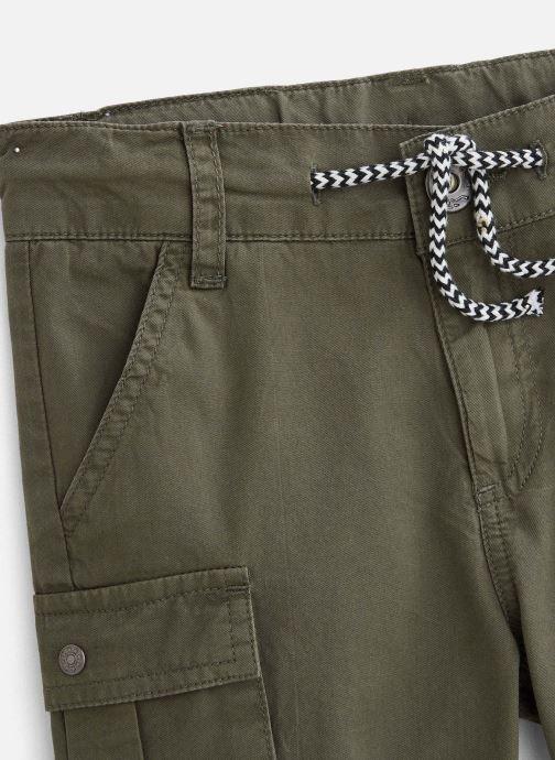 Vêtements 3 Pommes Short 3Q25135 Vert vue portées chaussures
