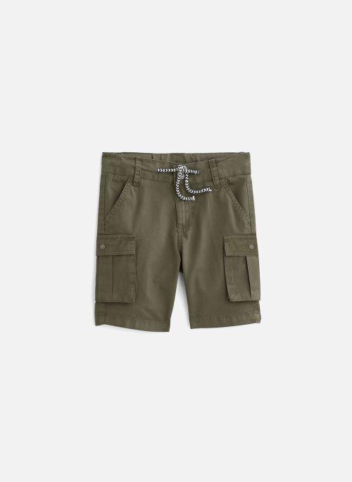 Vêtements 3 Pommes Short 3Q25135 Vert vue détail/paire