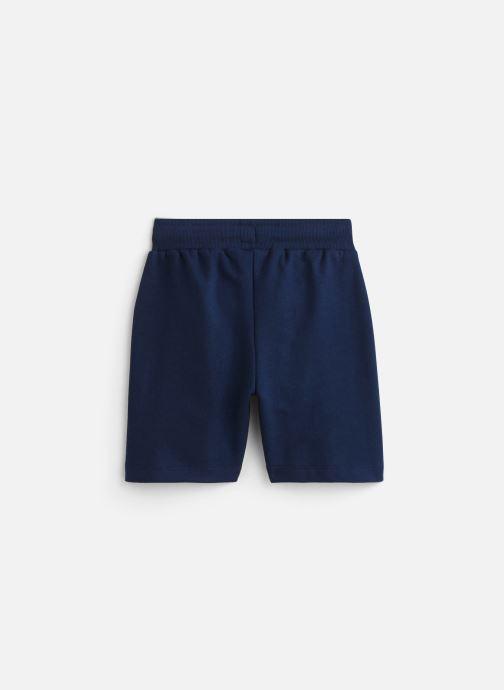 Vêtements 3 Pommes Bermuda molleton 3Q25005 Bleu vue bas / vue portée sac