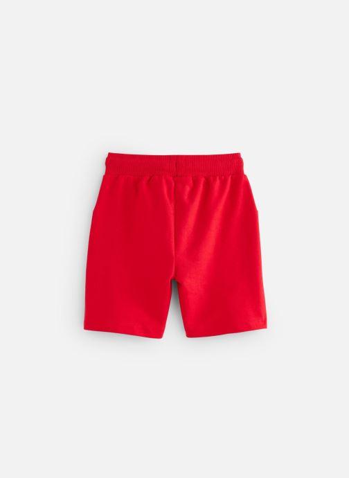 Vêtements 3 Pommes Bermuda molleton 3Q25005 Rouge vue bas / vue portée sac