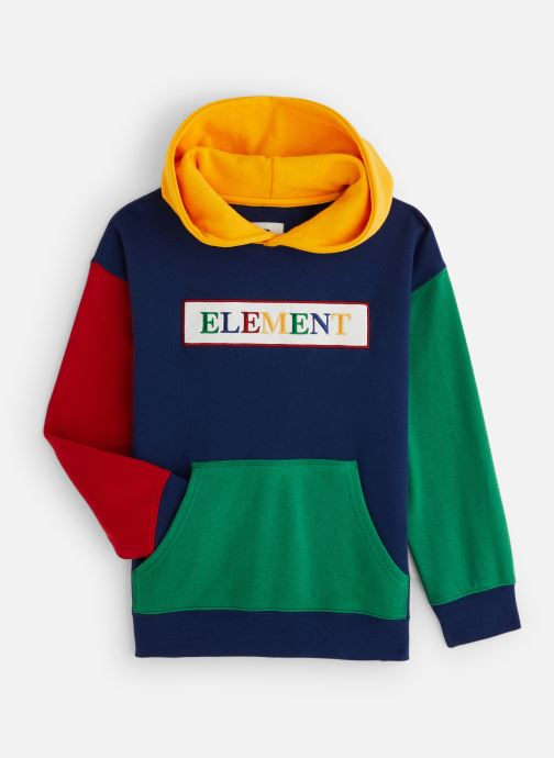 Vêtements Element Sweat S2FLA3ELP0 Bleu vue détail/paire