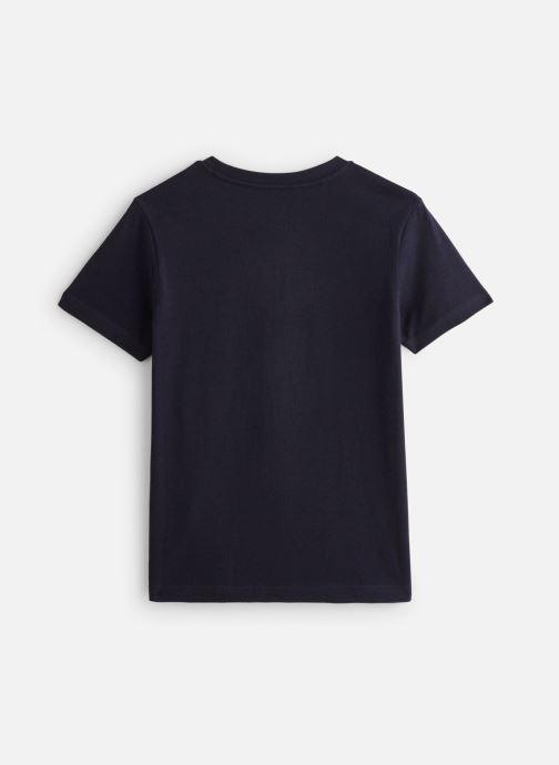 Vêtements Element T-shirt N2SSC8ELP9 Bleu vue bas / vue portée sac
