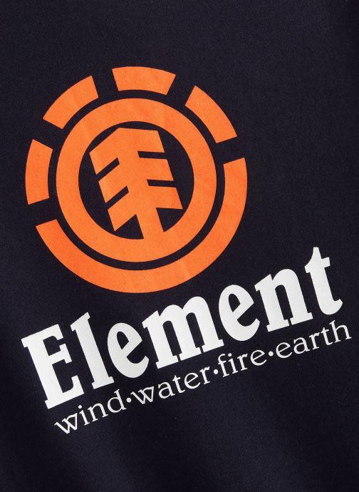 Vêtements Element T-shirt N2SSC8ELP9 Bleu vue portées chaussures