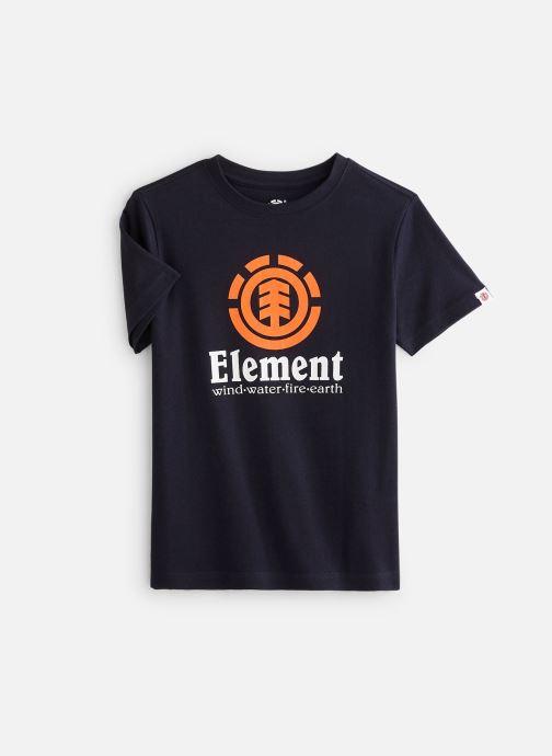 Vêtements Element T-shirt N2SSC8ELP9 Bleu vue détail/paire