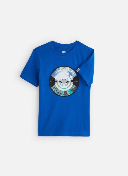 Vêtements Element T-shirt S2SSA3ELP0 Bleu vue détail/paire